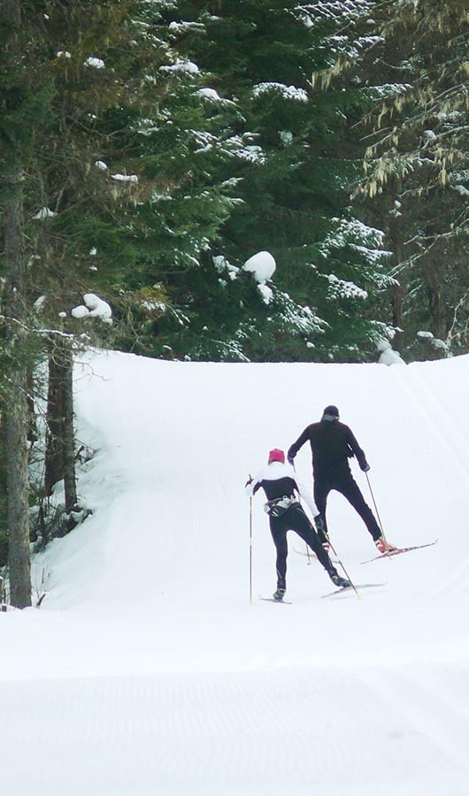 Cross-country skiing