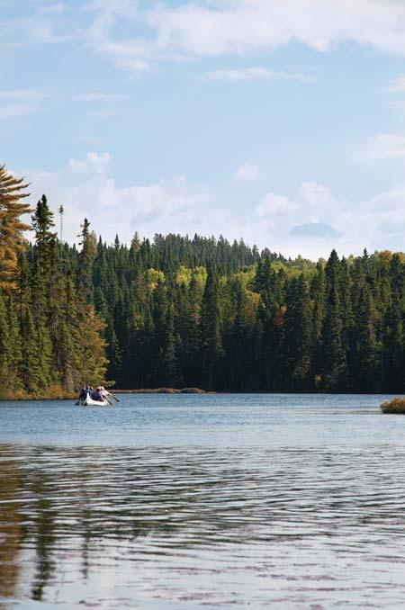 Rabaska sur le Lac Côme