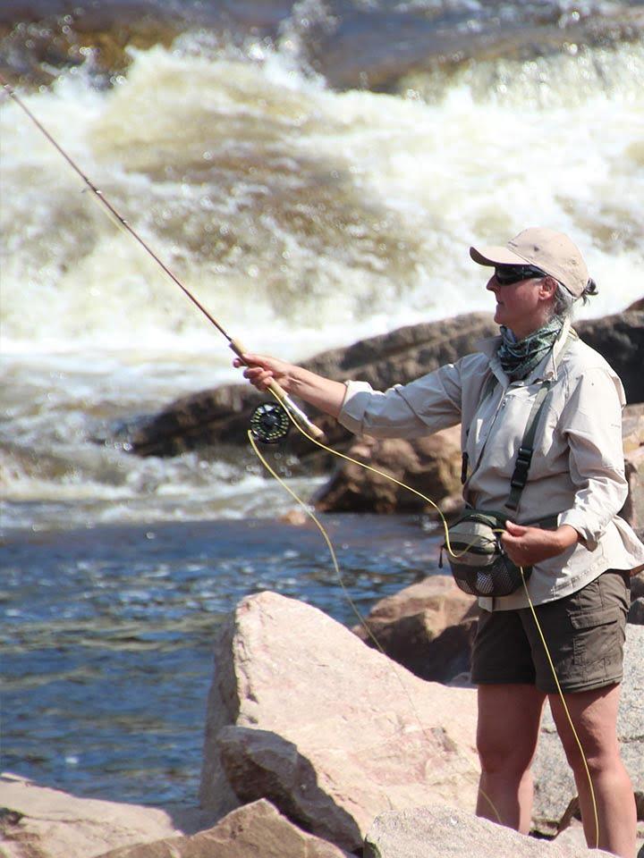 Pêche sur la Rivière-à-Mars