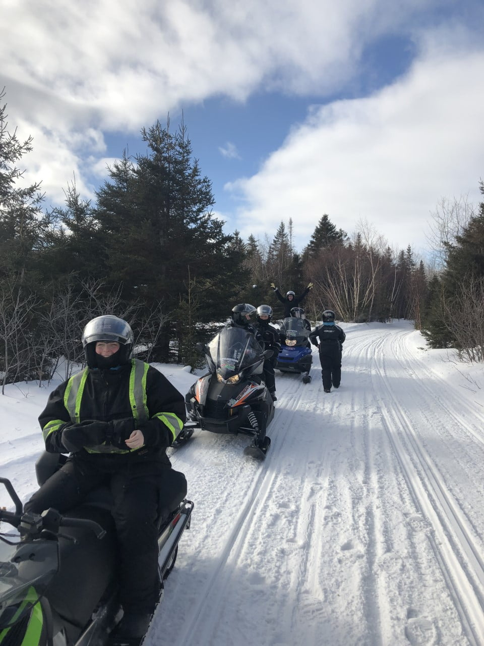 snowmobile saguenay